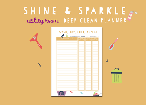 Shine & Sparkle Utility Room Cleaner