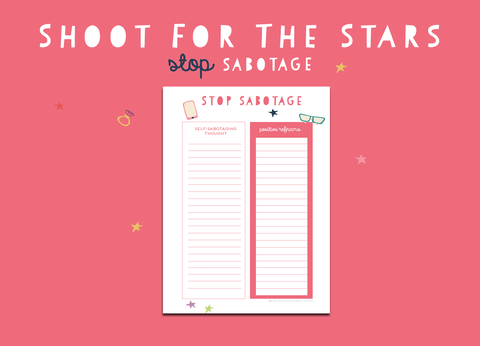 Shoot For The Stars Stop Sabotage