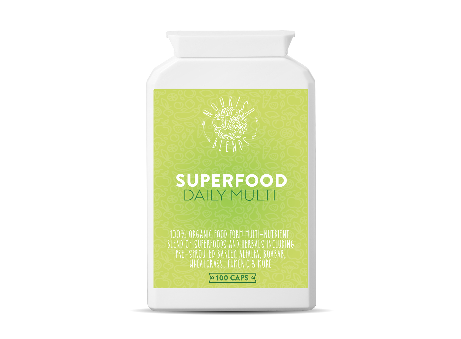 Superfood Daily Multi (100 Caps)