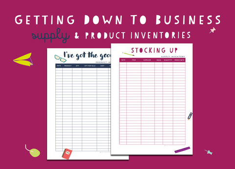 Getting Down To Business Supply & Product Inventories