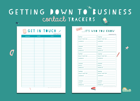 Getting Down To Business Contact Trackers