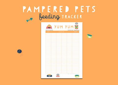 Pampered Pets Feeding Tracker