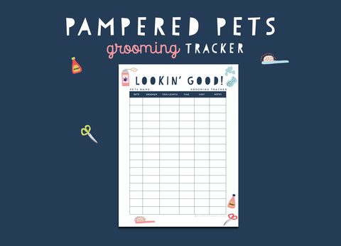 Pampered Pets Grooming Tracker