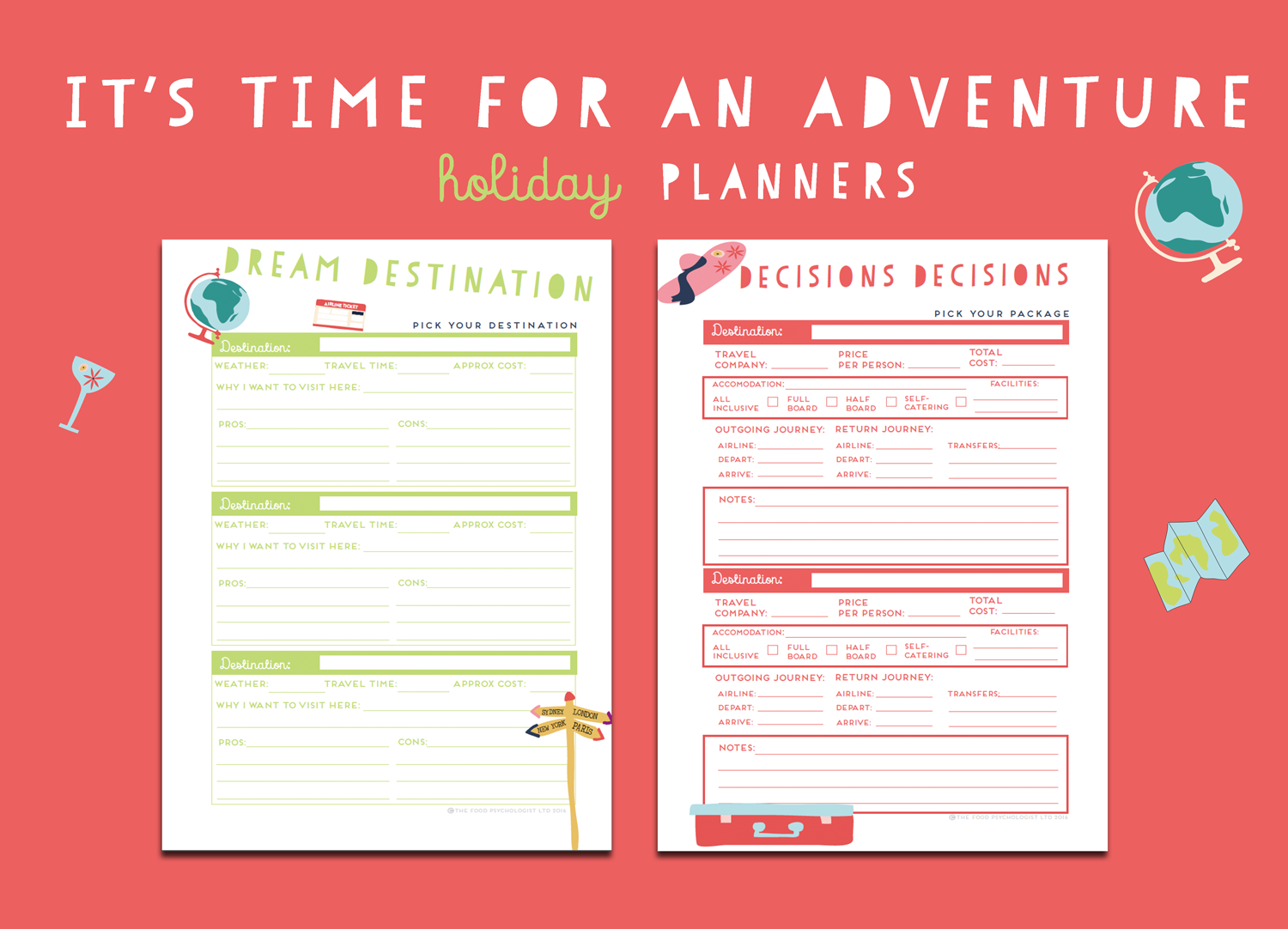 Time For An Adventure Holiday Planners