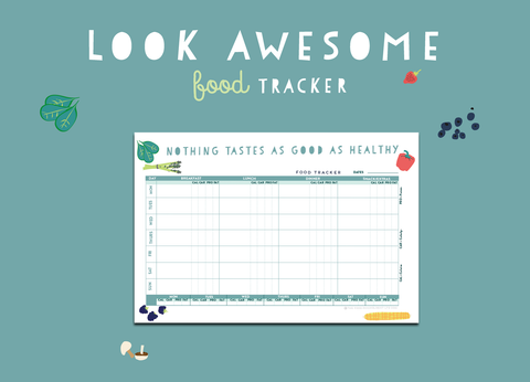 Look Awesome Food Tracker