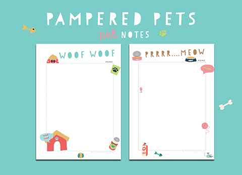 Pampered Pets Notes