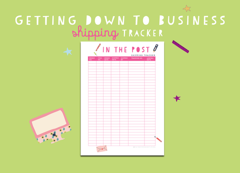 Getting Down To Business Shipping Tracker