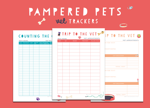 Pampered Pets Vet Trackers