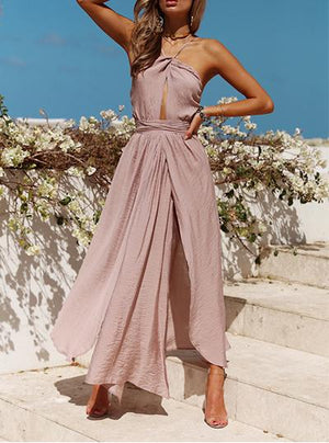 Elegant Beach Day Dress