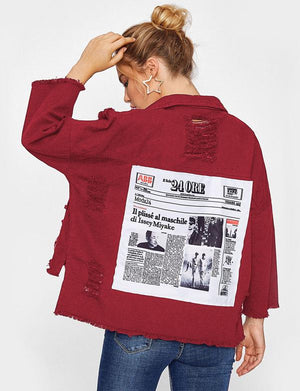 Red 24ORE jacket
