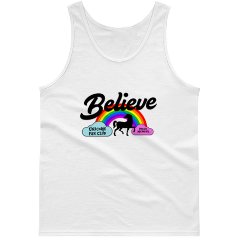 Unicorn Fan Club Membership #3 🦄 Guys tank top - Unicorn Fan Club