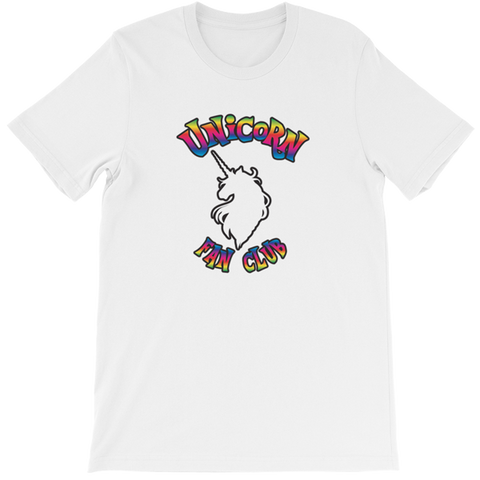 Unicorn Fan Club Membership #1 🦄 Ladies t-shirt - Unicorn Fan Club