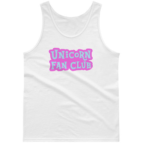 Unicorn Fan Club Membership #2 🦄 Guys tank top - Unicorn Fan Club