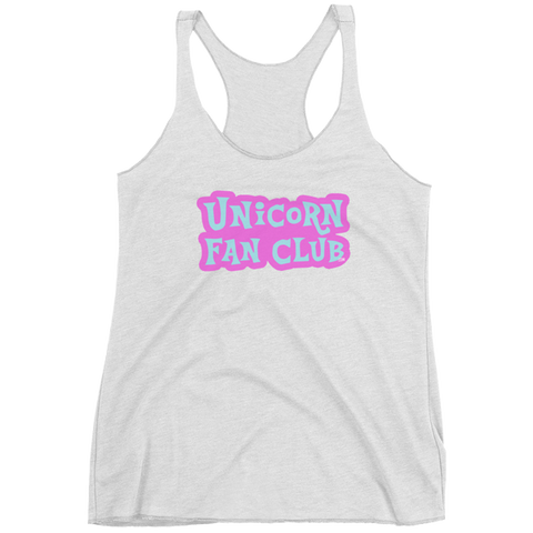 Unicorn Fan Club Membership #2 🦄 Ladies tank top - Unicorn Fan Club