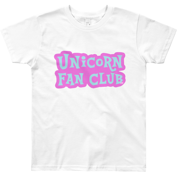 Unicorn Fan Club Membership #2 🦄 Youth t-shirt - Unicorn Fan Club