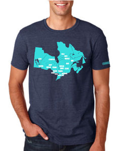 2018 Adult Map T-Shirt