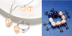 """Freshwater Pearl Jewelry Collection"""