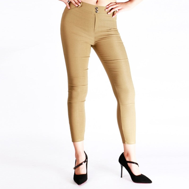 Slim Skinny Leggings Stretchy Pants