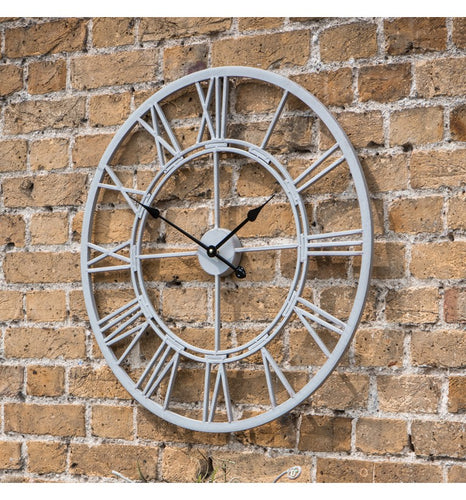 Vistini outdoor clock Estate available for free doorstep delivery