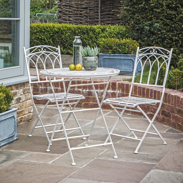 Garden table and chairs bistro set available for free doorstep delivery
