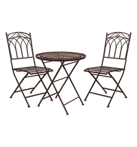Garden table and chairs bistro set ember available for free doorstep delivery