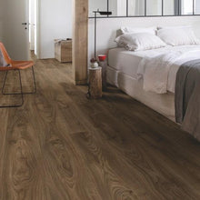 BALANCE 40027 Cottage oak dark brown-LVT-quick -step-Carpet Mills Maidstone