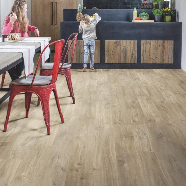 BALANCE 40031 Canyon oak light brown saw cuts-LVT-quick -step-Carpet Mills Maidstone