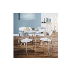 Casa white Dining Table - Perfectly Home Interiors