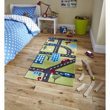 Children's Green Rug 5179 - Perfectly Home Interiors