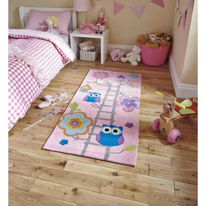 Children's Pink Rug 5648 - Perfectly Home Interiors