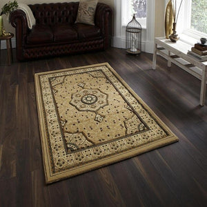 Heritage 4400 Beige traditional Rug - Perfectly Home Interiors