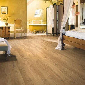 Impressive Classic oak natural-Laminate-quick -step-Carpet Mills Maidstone