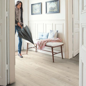 Impressive Soft oak light-Laminate-quick -step-Carpet Mills Maidstone