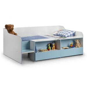 Low Sleeper Blue child's bed - Perfectly Home Interiors