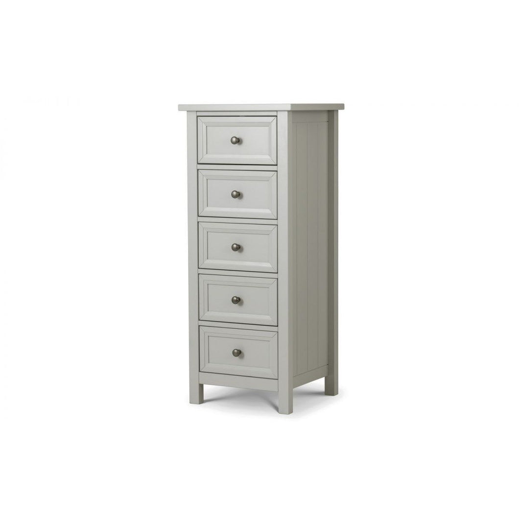 Maine 5 Drawer Tall Chest - Perfectly Home Interiors