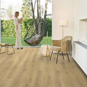 Quickstep Creo Tennessee oak natural-Laminate-Carpet Mills-Carpet Mills Maidstone