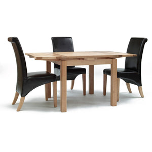 Sherwood Oak Small Drawleaf Table - Perfectly Home Interiors