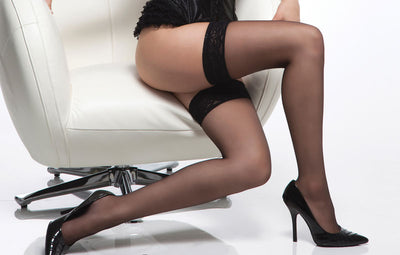 Coquette Sheer Stockings - One Size -Clearance