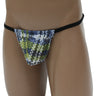 Digital Plaid Posing Strap Mens G-String Underwear -Closeout