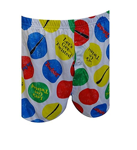 Lets Get Twisted Boxer's for Men from Hasbro -Closeout Small