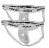 NEW Open Hole Suspensory Cotton Mesh Jock Strap - NDS Wear - 2 PACK