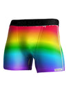 Horizontal Rainbow Gradient Pride NDS WEAR  Boxer Brief Dual Sided All Over Print by