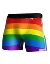 Rainbow Horizontal Gay Pride Flag NDS Wear Boxer Brief Dual Sided All Over Print by