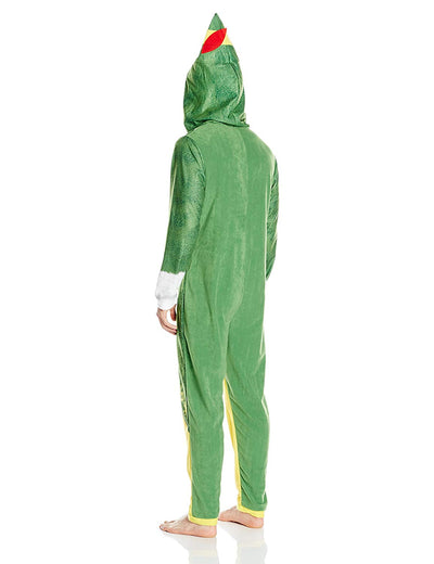 Men's Buddy The Elf Hooded Union Suit By Warner Brothers