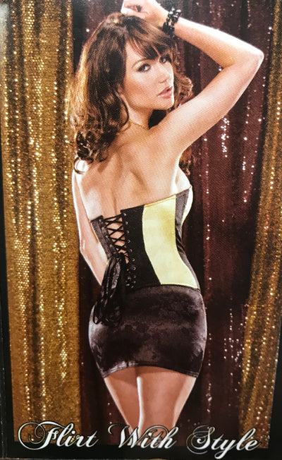 Womens Brocade Corset with Busk -Clearance SALE!