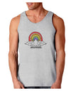 RAINBROS  Loose Tank Top - Ash Gray - 2XL Tooloud