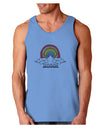 RAINBROS  Loose Tank Top - Carolina Blue - 2XL Tooloud