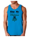 Kiss Me Under the Mistletoe Christmas Loose Tank Top