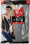 Hanes Single A-Shirt Tank Top For Men Ribbed
