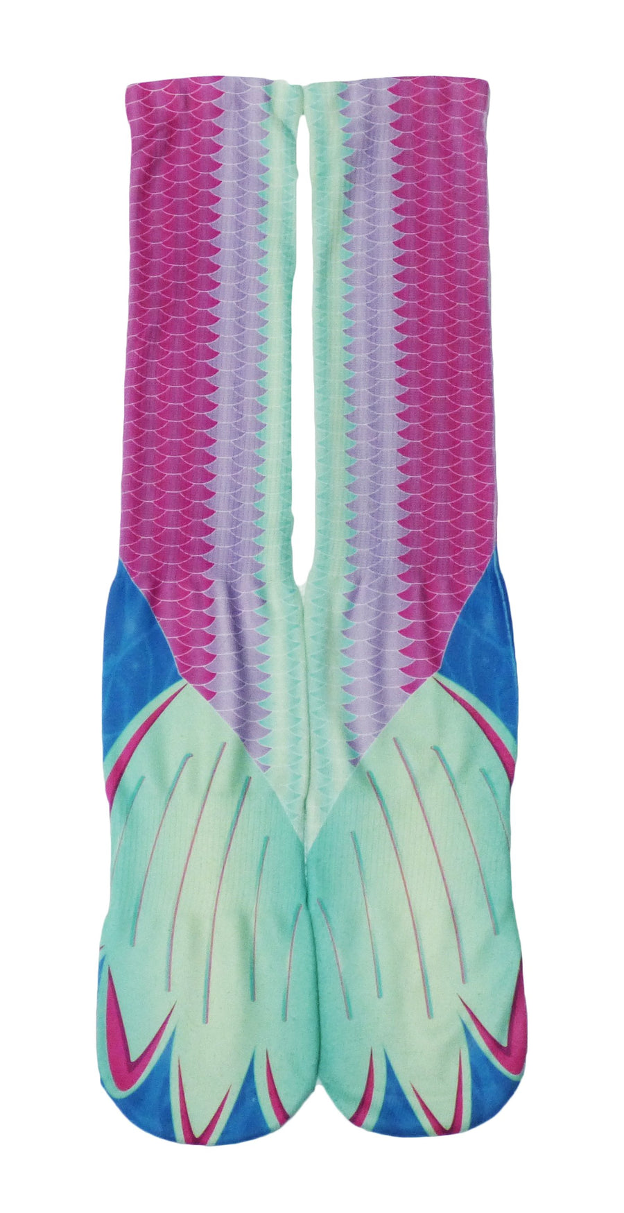Mermaid Tail Unisex Knee High Socks